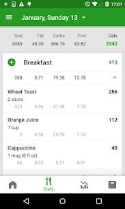 Calorie Counter by FatSecret – Android Mod + APK + Data 2