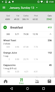 App Calorie Counter by FatSecret APK for Windows Phone