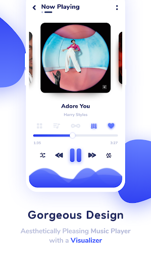 Nyx Music Player screenshot 1