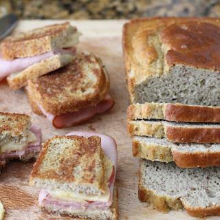 4 Ingredient Paleo Sandwich Bread.