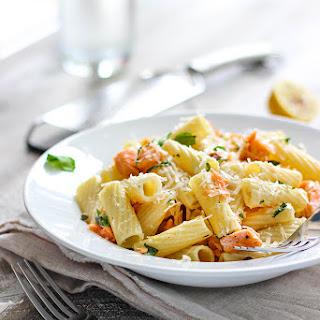 Salmon And Garlic Pasta Recipes.