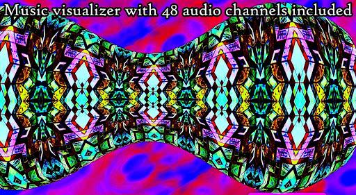 Shapeshifter Music Visualizer & Live Wallpaper 1.13 screenshots 1