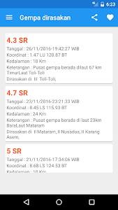 Indonesian Weather (BMKG) screenshot 4