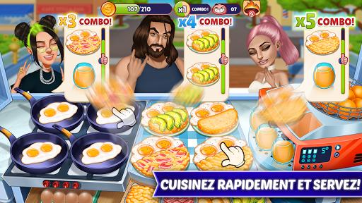 Code Triche Cooking Fantasy - Jeux de Cuisine 2020 APK MOD (Astuce) screenshots 1
