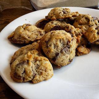 Full of Secrets Chocolate Chip Cookies.