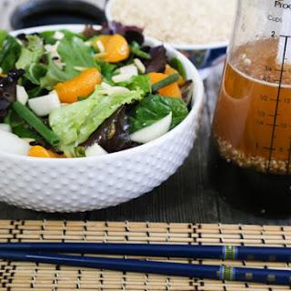 Sesame-Ginger Salad Dressing.