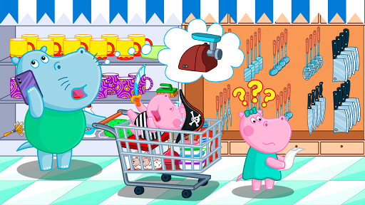 Supermarket: Shopping Games for Kids android2mod screenshots 9