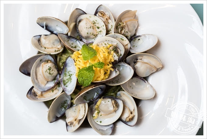 W Kitchen蛤蠣青醬義大利麵