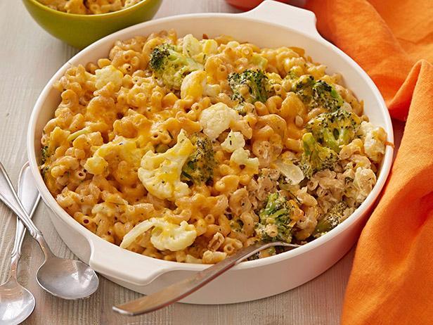 Broccoli and Cauliflower Gratin Mac N Cheese Recipe
