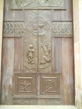 Photo: Matera, Church of Purgatory, doors