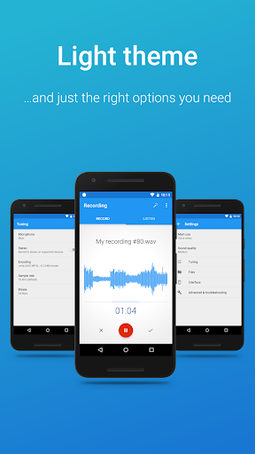 Screenshot for Easy Voice Recorder Pro in United States Play Store