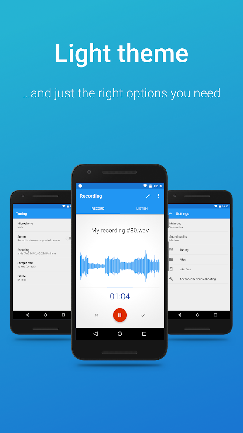 Easy Voice Recorder Pro Screenshot 7