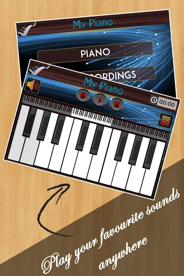 real piano keyboard android apps on google play. Black Bedroom Furniture Sets. Home Design Ideas
