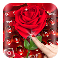 Luxury Red Rose Keyboard icon