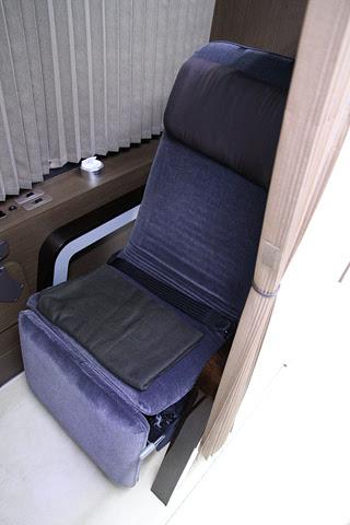 中国バス「ドリームスリーパー」 G1202 シート