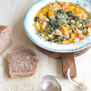 Spring Soupe Au Pistou {French Vegetable Soup With Basil Paste}