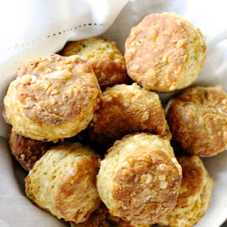 Irish Cheddar & Stout Biscuits
