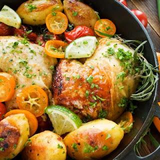 Citrus Herb Roasted Chicken