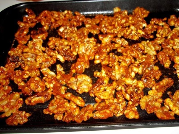 Spread out onto prepared sheet pan and bake for 15 - 20 minutes or...