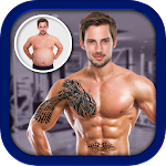 Men Body Styles SixPack tattoo - Photo Editor app 1.36
