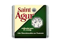 Angebot für Saint Agur 125 Stück im Supermarkt Netto mit Hund (gelb-schwarz)