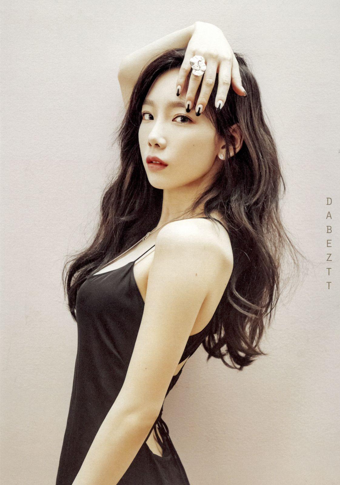 black hair taeyeon