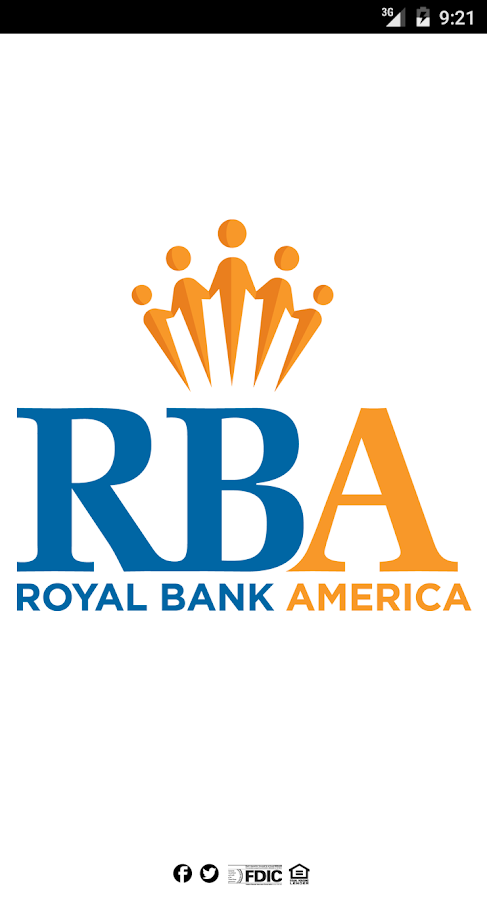 ROYAL BANK AMERICA- screenshot