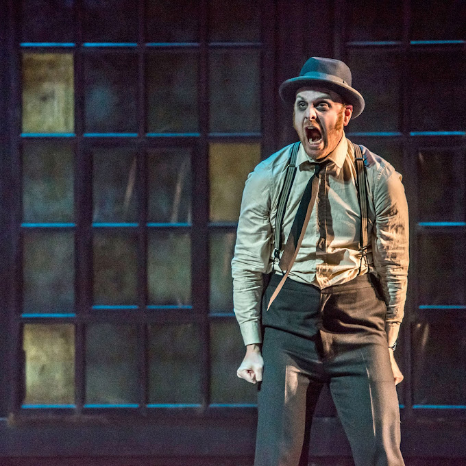 Schmopera–A Perfect Fit: The Overcoat Every once in a while a work comes along where all the pieces fall into place. The Overcoat: A Musical Tailoring, which opened last night in the Bluma Appel Theatre at the St. Lawrence Centre for the Arts, was one such piece.