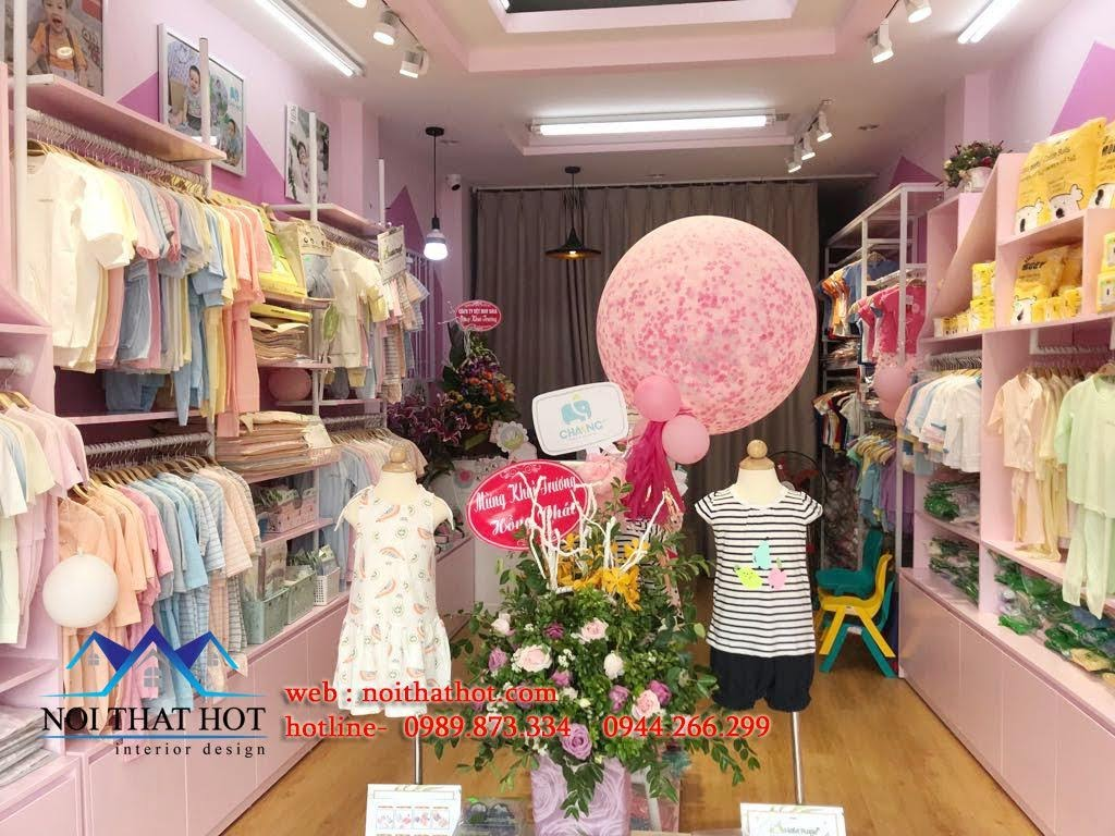 thiết kế cửa hàng trẻ em shop me ken 5