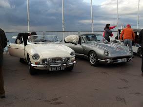 Photo: MGB, Chimaera, Mini Moke, la Prom' des Neiges aime les anglaises !