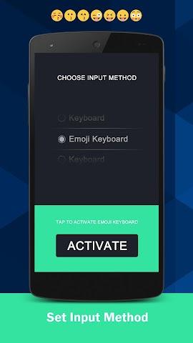 android Emoji Keyboard Screenshot 1