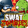 SWAT and Zombies Wallpaper