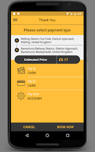 24Hr Central Booking App- screenshot thumbnail