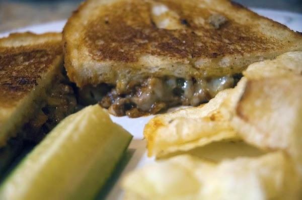Sloppy Joe Grilled Cheese Sandwich Recipe