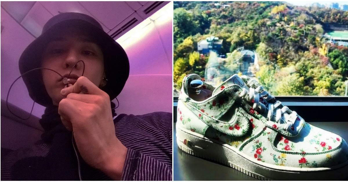 Nike Gifts G Dragon A Custom Made Shoe Only One Exists In The