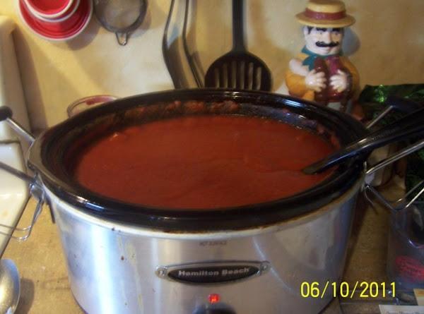 Deb's Spaghetti Sauce Recipe
