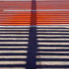 stripes by Nico Kranenburg - Abstract Patterns ( abstract, red, stripes, black,  )