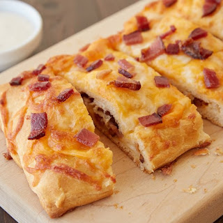 Chicken and Bacon-Stuffed Crescent Bread.