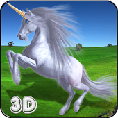 Unicorn Simulator Kids Race 3D