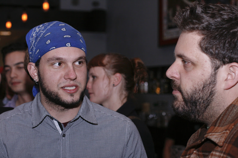 Photo: Leo Beckerman and Evan Bloom of Wise Sons Jewish Delicatessen
