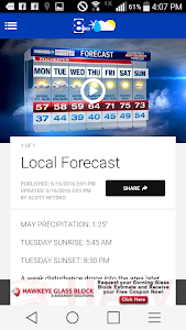 News 8 Weather screenshot 2