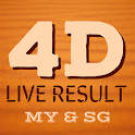 Live 4D Result! icon