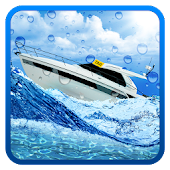 Boat Drive Crazy Water Taxi Driving Simulator Game