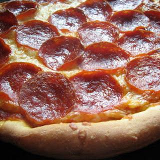Pepperoni Pan Pizza.