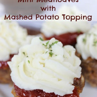 Easy Meatloaf Recipe | Mini Meatloaves With Mashed Potatoes