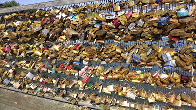 Photo: Locks on bridge 2