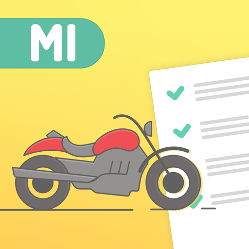 Michigan DMV MI Motorcycle License Knowledge Test Android APK Download Free By Driver-start.com