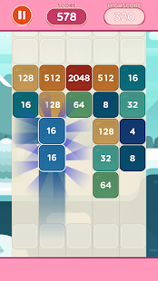 Merge Block Puzzle - 2048 Shoot Game free for PC-Windows 7,8,10 and Mac apk screenshot 2
