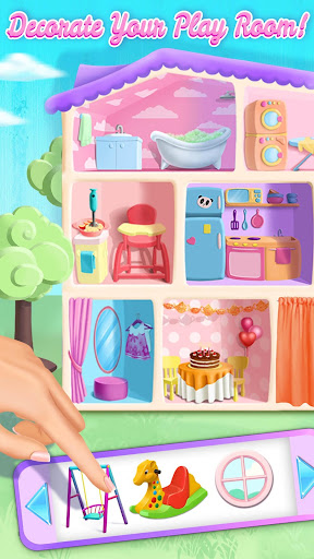 Sweet Baby Girl Doll House - Play, Care & Bed Time 2.0.9 Screenshots 5