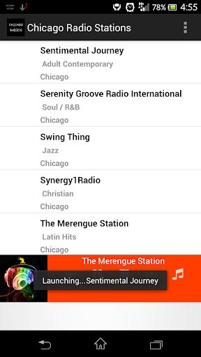 Chicago adult radio stations